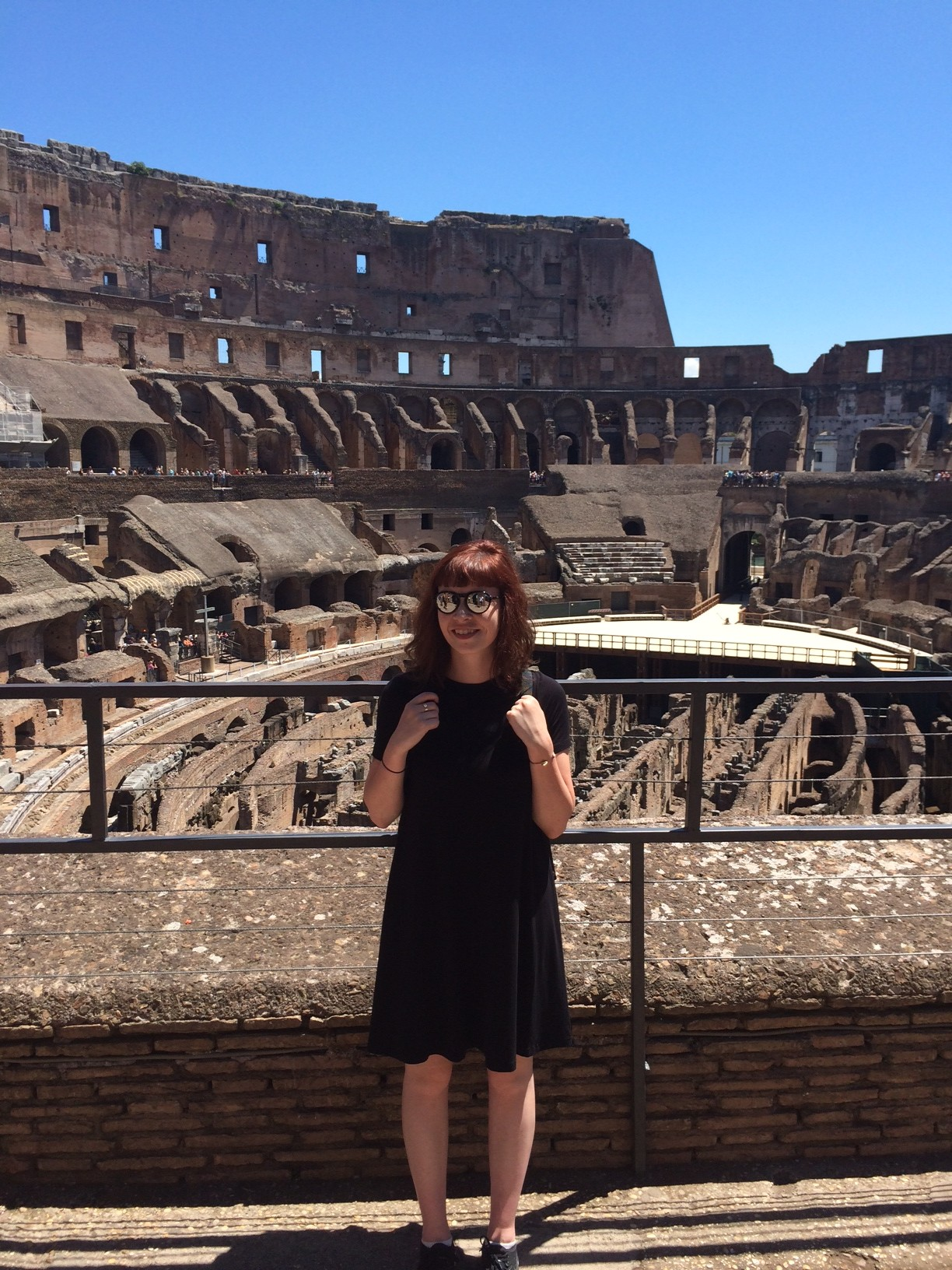 The Colosseum! Rome is definitely one of my favorite places now.